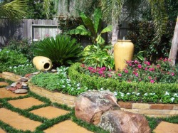backyard design and landscaping picture